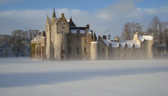 Haunted Location Fyvie Castle Aberdeen